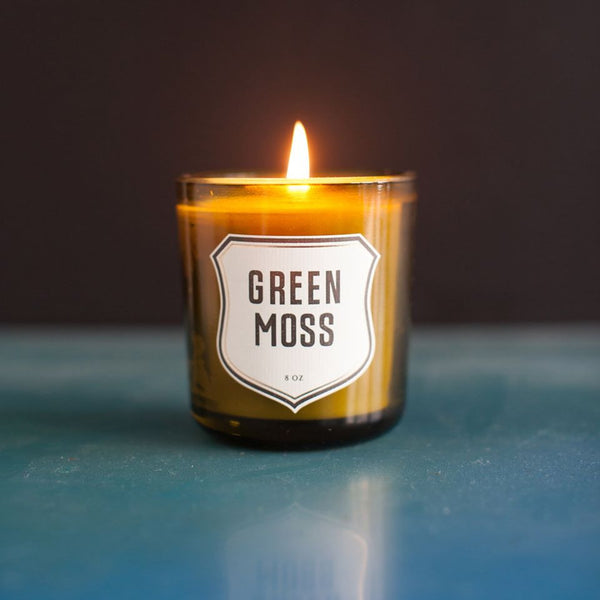 Green Moss Candle by Izola
