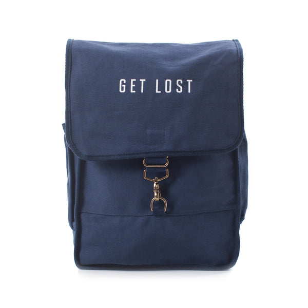 GET LOST Canvas Backpack