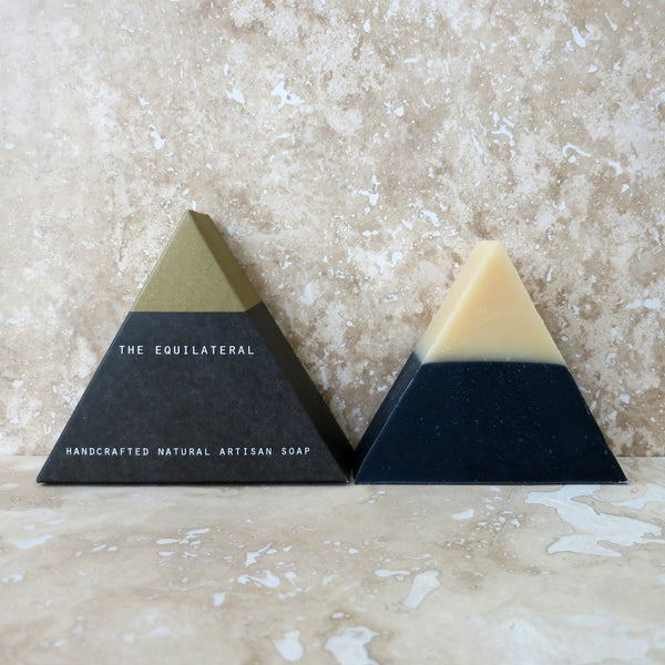 Equilateral Black Gold Soap