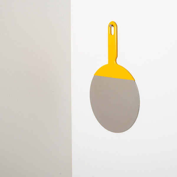Utility Mirror in Yellow