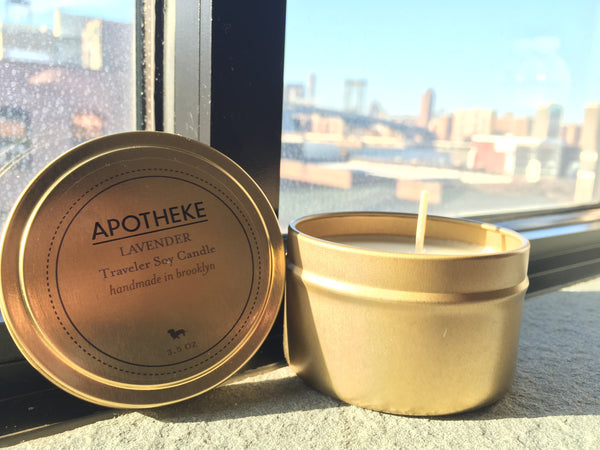Lavender  Soy Travel Candle