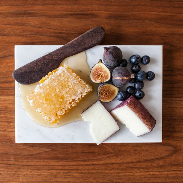 Carrara Marble Cheese Plate
