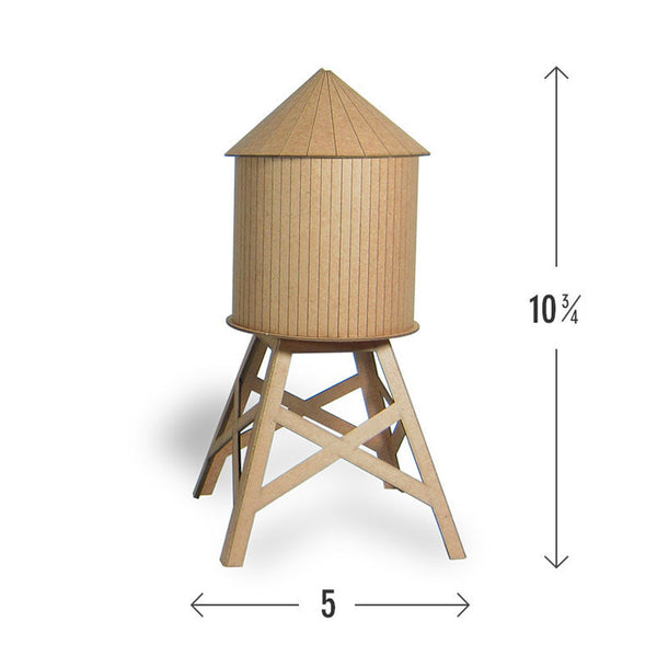 Mini Water Tower Model Kit