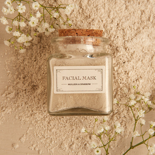 Facial Mask - a little luxury