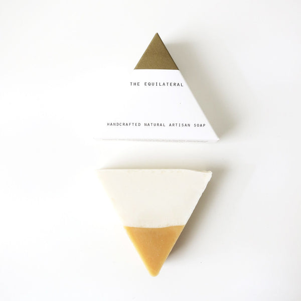 Equilateral White Gold Handmade Soap
