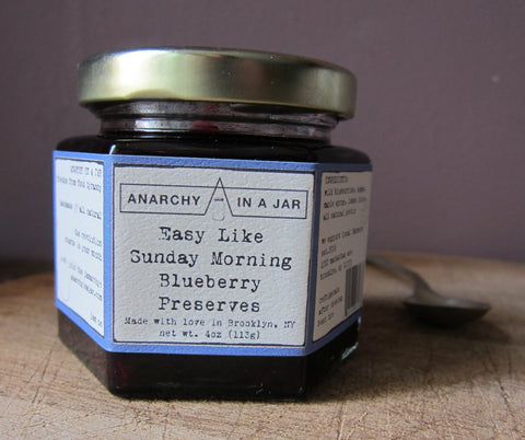 Easy Like Sunday Morning Blueberry Preserves - out of stock