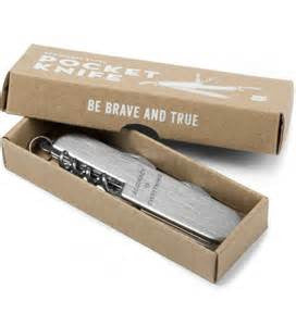 BE BRAVE AND TRUE Pocket Knife