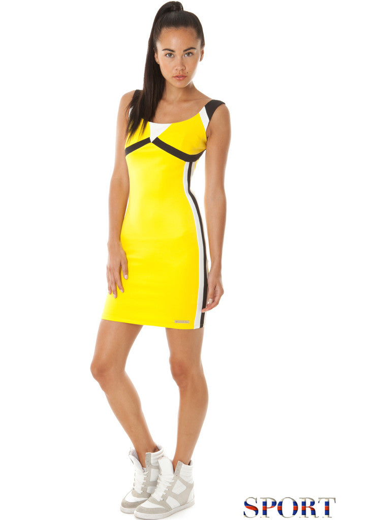 Beautiful Casual Sports Gym style Body con Dress - 3 colours -  Urban Direct Women's clothing