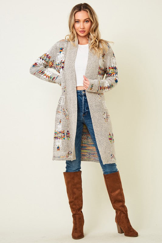 Arizona Midi Duster Sweater