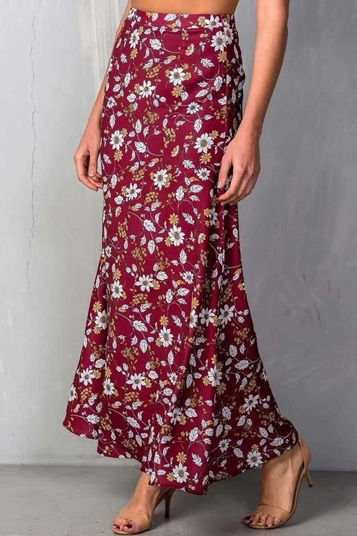 Penelope Floral Maxi Skirt