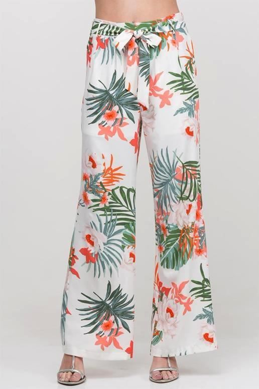 Tropical Aphrodisiac Pants - Cream