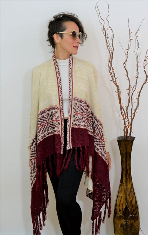 Almost Famous Fringe Cardigan