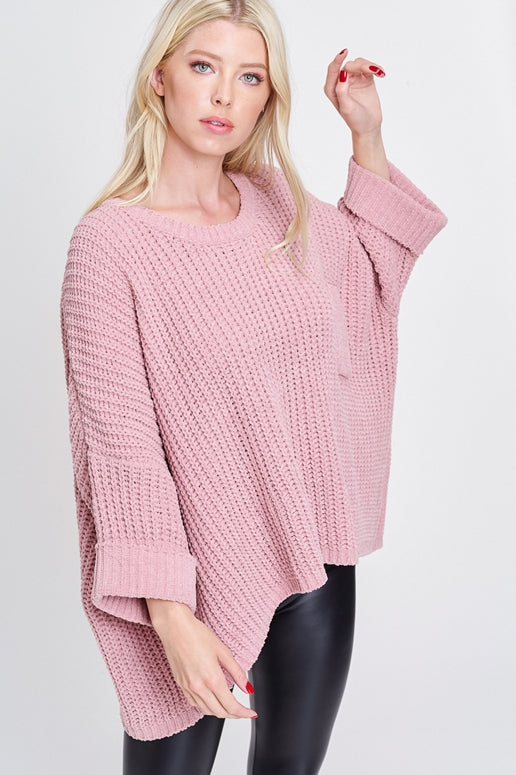Morning Hush Top - Mauve