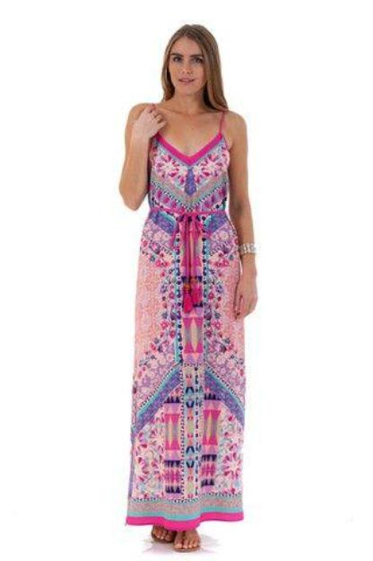Peachpuff Collection Maxi Dress - Pink