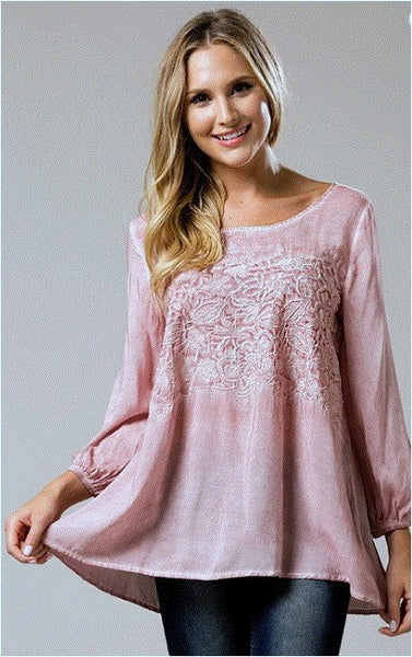 Andree By Unit Blouse Dusty Pink Debra S Passion Boutique