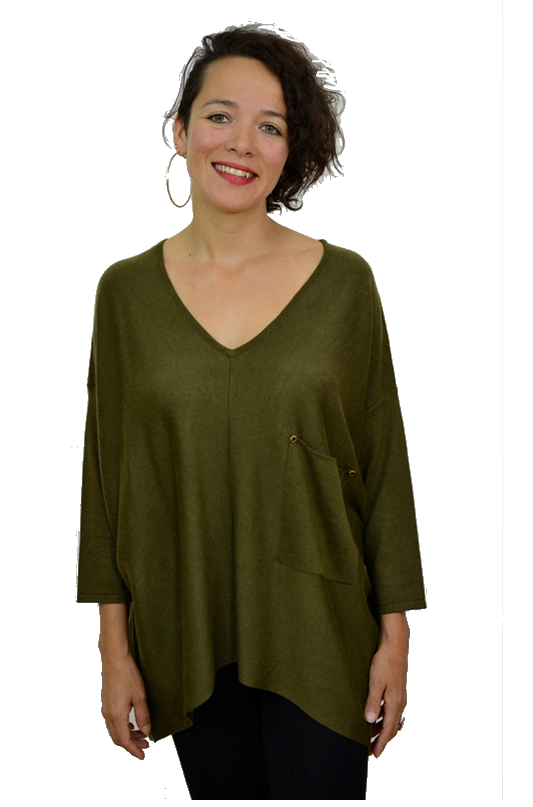 Kerisma Raven Sweater - Army Olive *Clearance