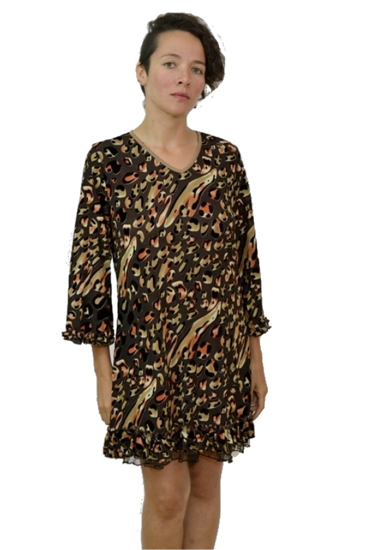 Autumn Splash Lady Noiz Tunic
