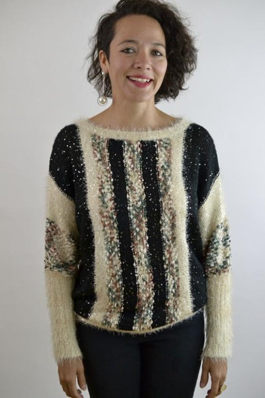 Bacci Boucle Pullover Sweater