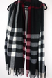 Buffalo Plaid Fringe Scarf