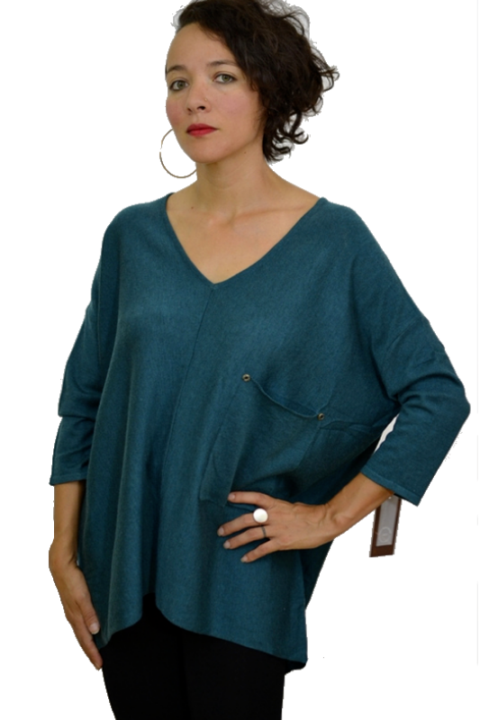 Kerisma Raven Sweater  - Dark Teal