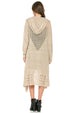Mittoshop Bundled Up and Cozy Hoodie Cardigan - Taupe