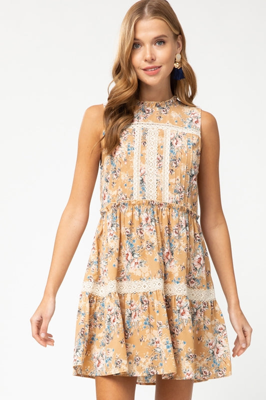 Entro Julia Dress - Honey
