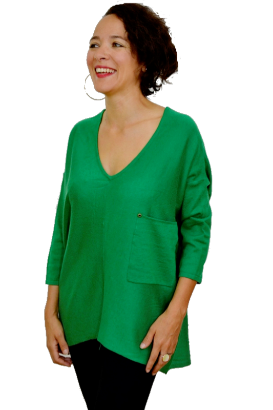 Kerisma Raven Sweater - Kelly Green