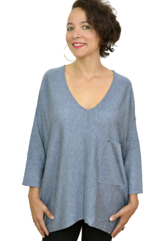 Kerisma Raven Sweater - Light Denim