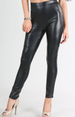 Nikibiki PU Pants Leggings - Black