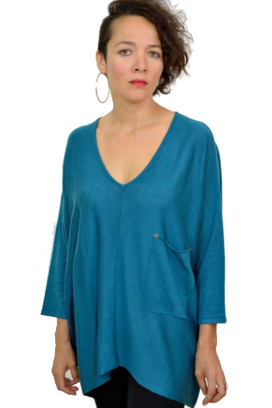 Kerisma Raven Sweater - New Teal