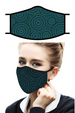 Rain Caper Circle Dots Face Mask
