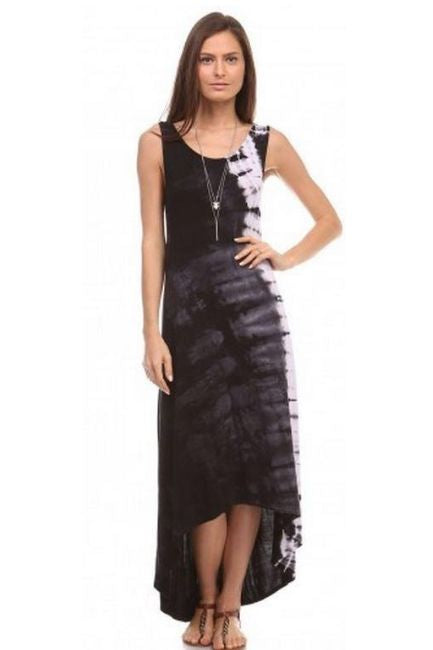 Urban X Hi Lo Maxi Dress- Black