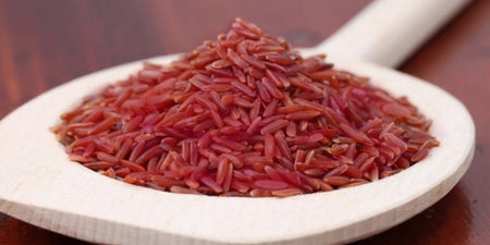 Bowl of Red Yeast Rice