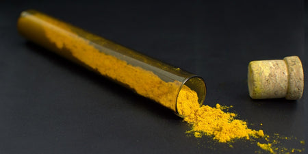 vial of quality turmeric