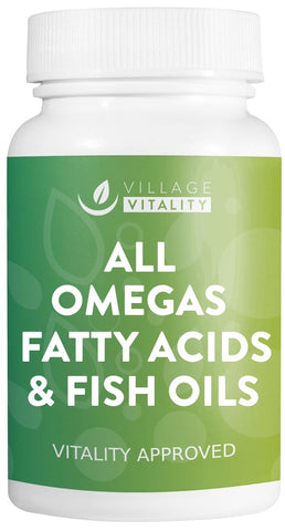 All Omegas, Fatty Acids & Fish Oils