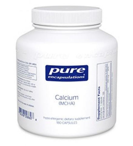 Pure Encapsulations Calcium (MCHA) - 180 Capsules