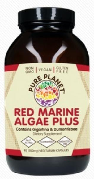 Pure Planet Red Marine Algae Plus - 90 Capsules