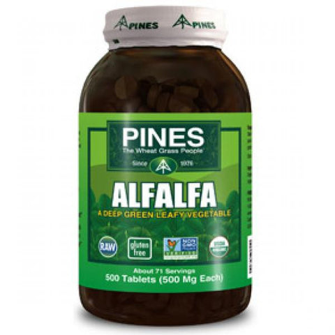 Pines Alfalfa - 500 Tablets