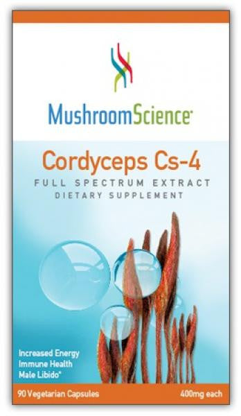 MushroomScience Cordyceps CS-4 - 90 Capsules