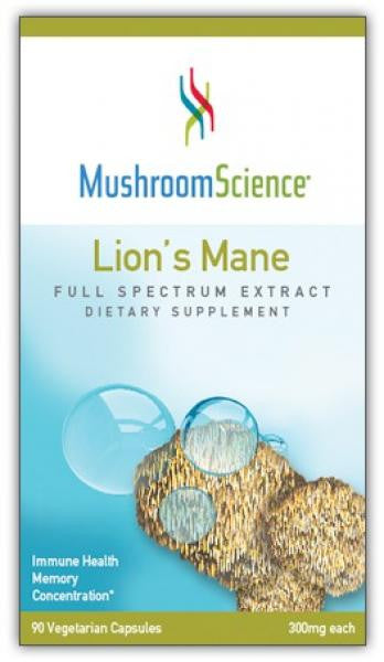 MushroomScience Lion's Mane - 90 Capsules