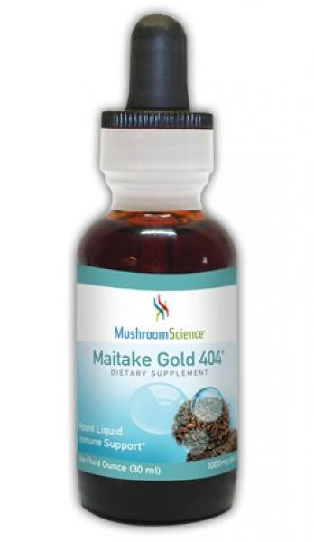 MushroomScience Maitake Gold 404 - 1 oz Liquid