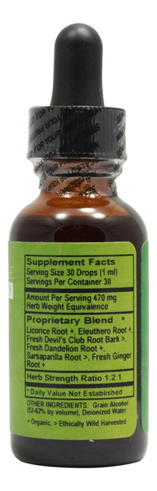 Adren-Aid - 1 fl oz - Supplement Facts