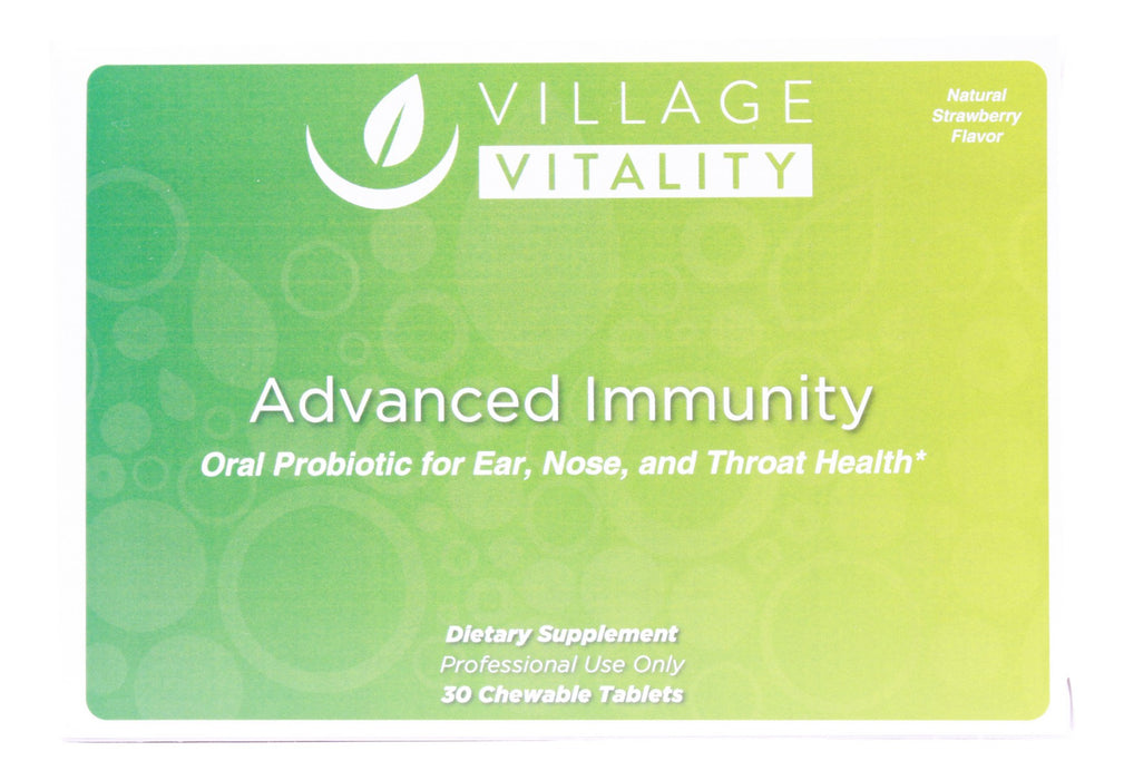 Advanced Immunity Probiotic - 30 Chewable Tablets - Front