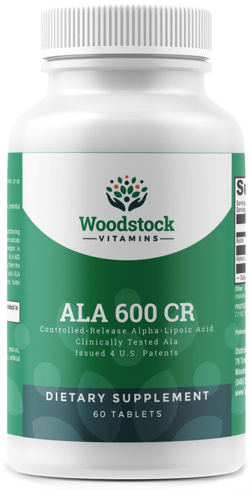 ALA 600 CR - 60 Tablets