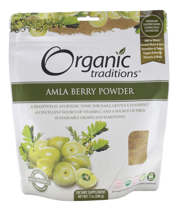 Amla Berry Powder - 7 oz - Front