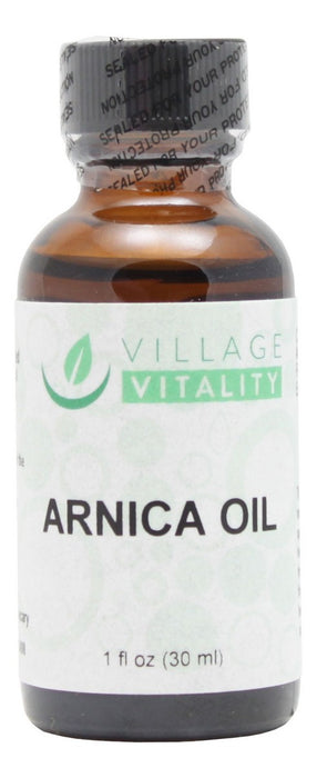 Arnica Oil - 1 oz - Front