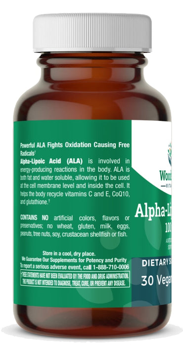 Alpha-Lipoic Acid 100 mg - 30 Tablets