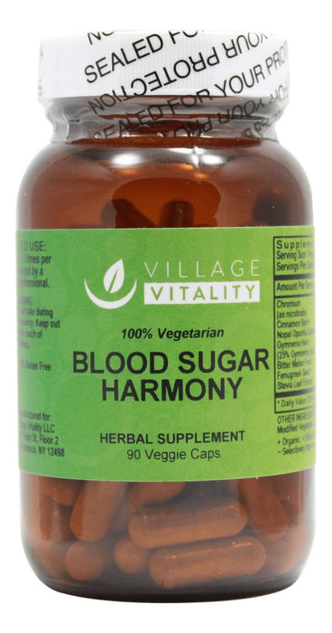 Blood Sugar Harmony- 90 Capsules- Front