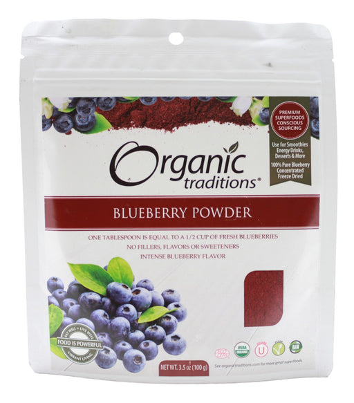 Blueberry Powder - 3.5 oz - Front