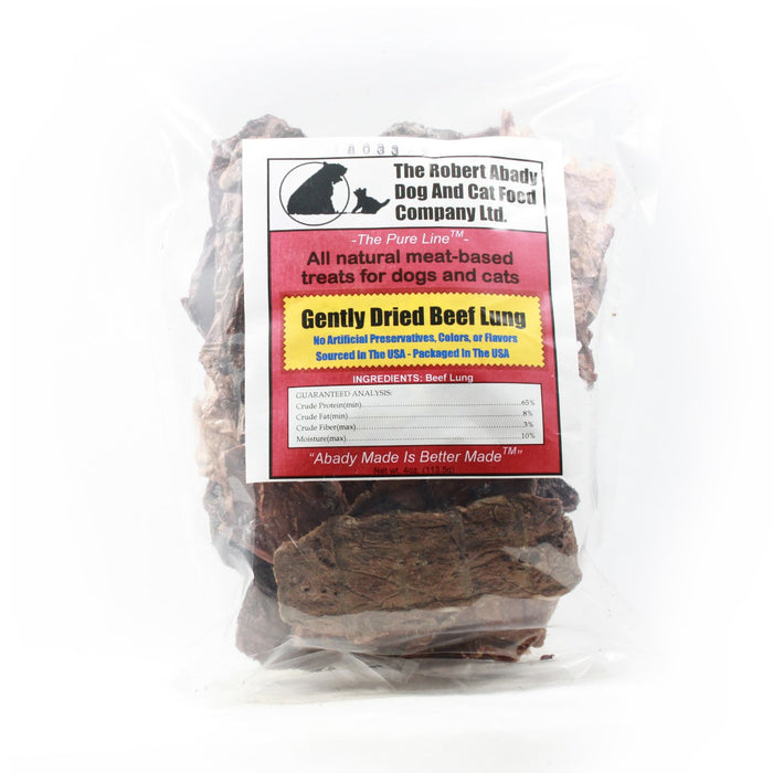Gently Dried Beef Lung - 4 oz